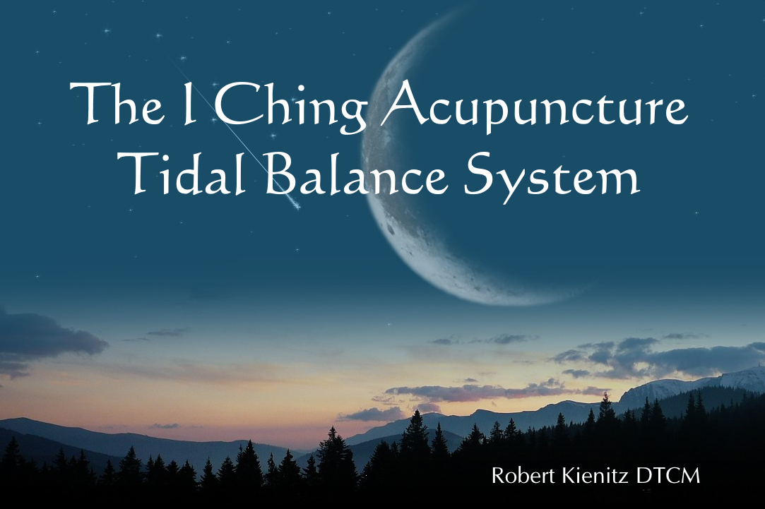 The I Ching Acupuncture Tidal Balance System Ebook